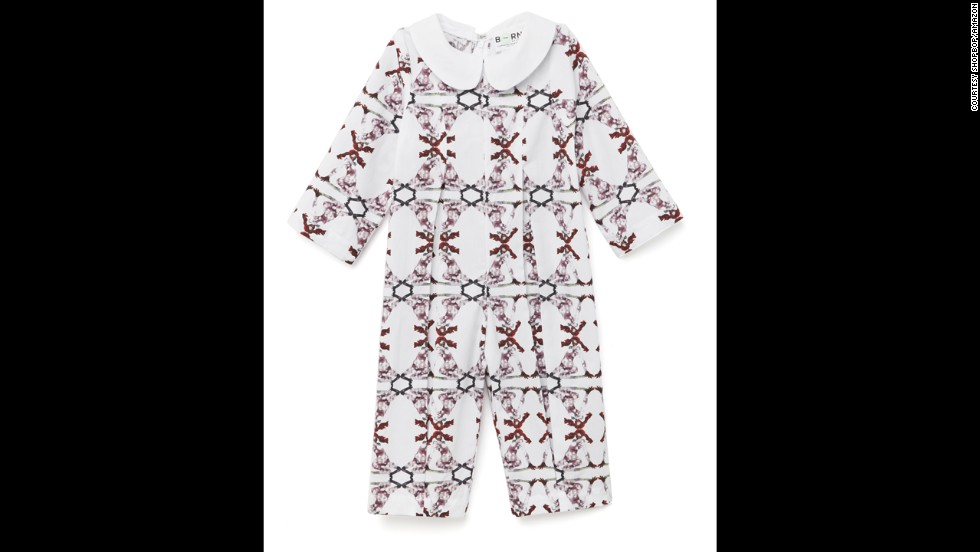 Baby onesie by Carolina Herrera