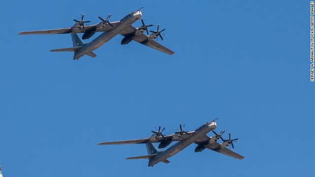 NATO planes chase out Russian bombers