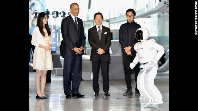 Inside Politics funnies: Obama's robot
