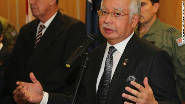 Malaysian PM: We cannot verify cause