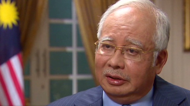 Malaysian PM won't say plane is lost