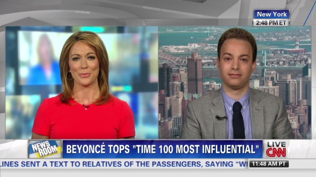 Beyonce tops 'Time 100 Most Influential'