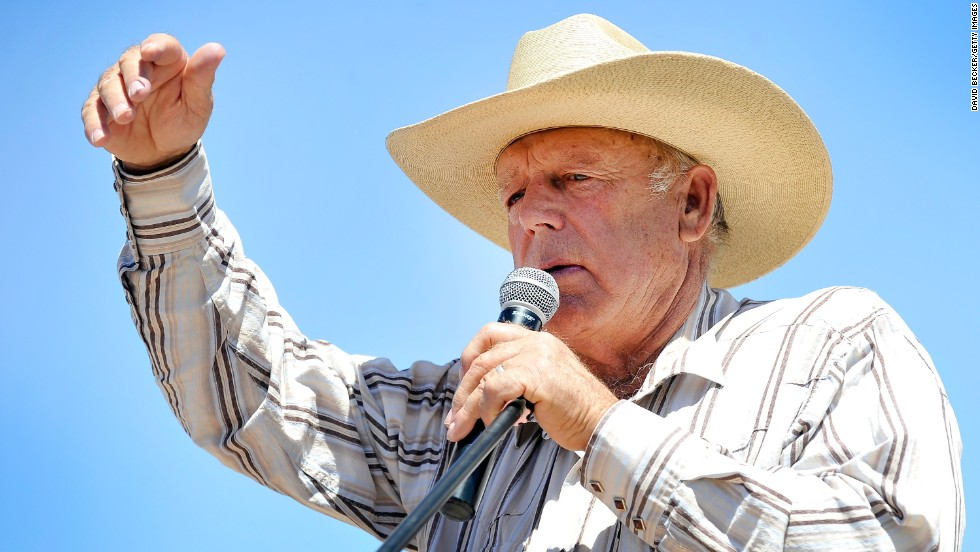 "Rancher Cliven Bundy <a href=""http://www.cnn.com/2014/04/24/politics/cliven-bundy-interview/"">made news</a> in 2014 for his battle with the federal government and his comments that implied blacks would have been better off in slavery. In an interview with CNN's ""New Day,"" he said he is not a racist."