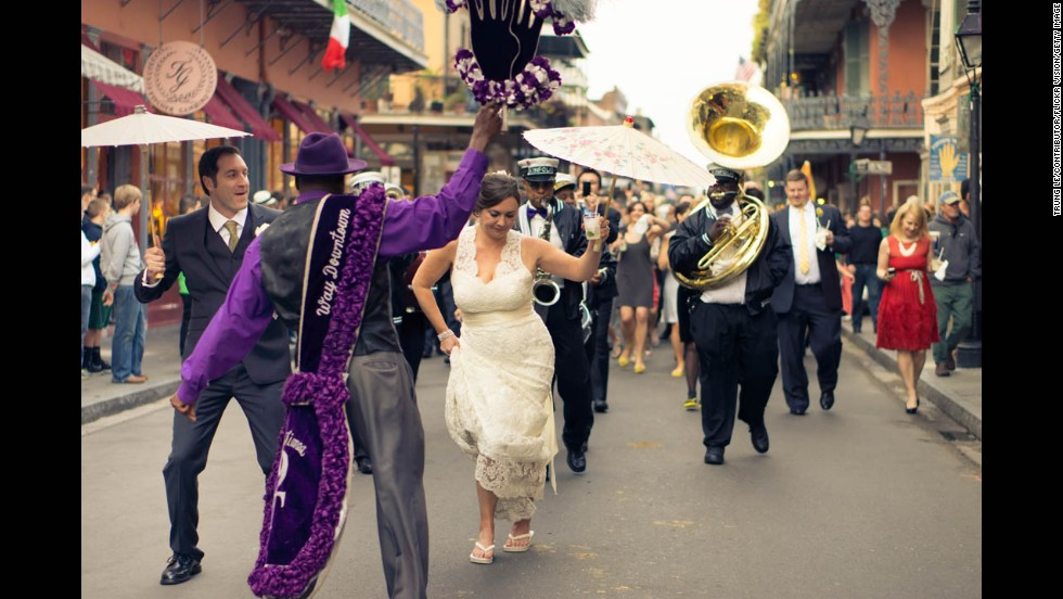 Consider deputizing wedding party or family members to convey the message if there is a special theme or structure to the food. In a traditional New Orleans wedding, there is no sit down meal -- the heavy passed apps and small plates stations ARE the dinner and guests shouldn't miss them