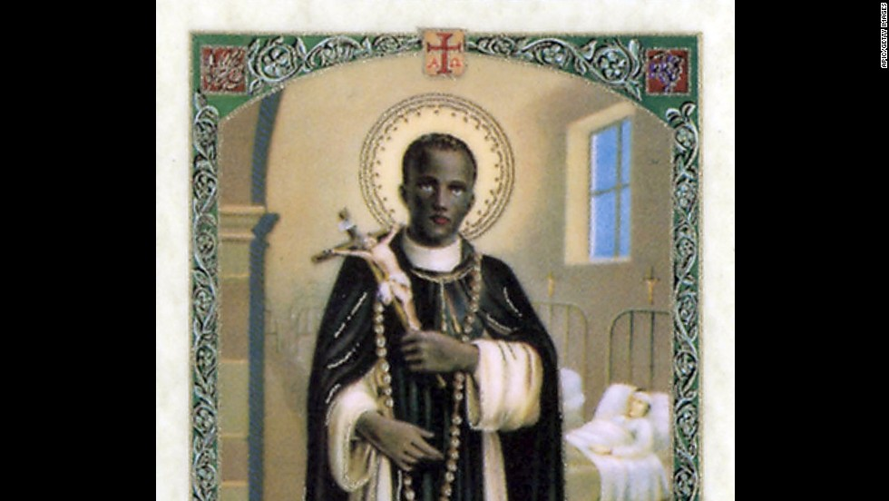 St. Martin of Porres, from Peru, is the patron saint of hairdressers. As a boy, he was apprenticed to a barber before joining the Dominican Order. The illegitimate son of a Spanish knight and a black woman, Martin is also the patron saint of people with mixed racial heritage.
