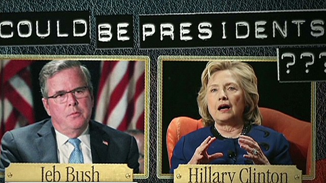 2016: The Bush-Clinton rematch?