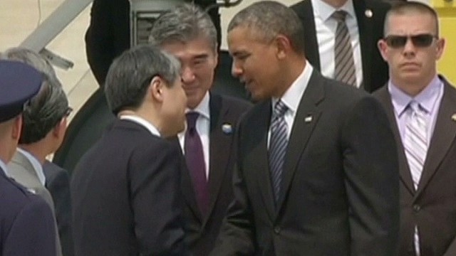 President Obama visits South Korea