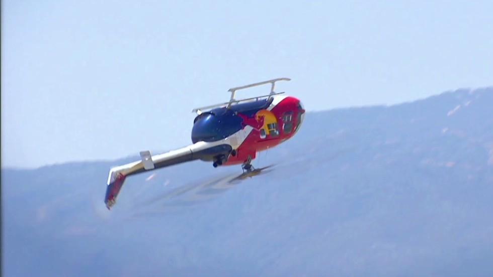Watch helicopter pilot defy physics - CNN Video