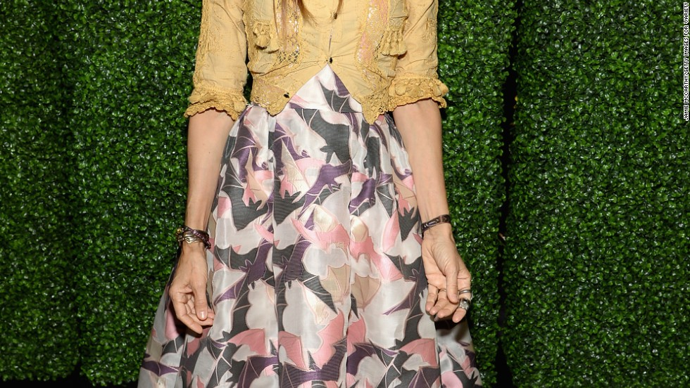 Sarah Jessica Parker wears power flowers as she attends Variety's Power of Women: New York event on April 25.