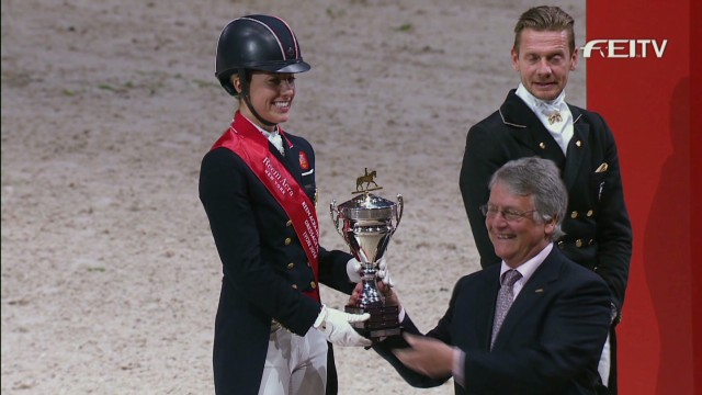 Equestrian elites gather for World Cup Final
