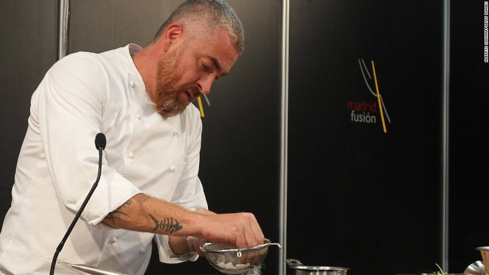 7. Alex Atala has built D.O.M into Latin America's top restaurant by featuring native ingredients in meticulously created dishes that even include insects. It was ranked sixth in the world on the 2013 World's 50 Best Restaurants list.