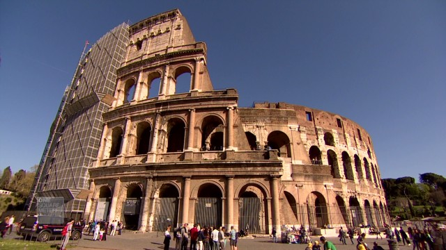 Race against time to save Rome's ruins