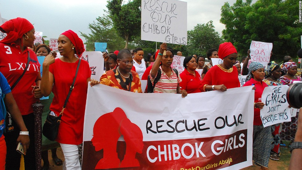 Nigerians demand government do more to bring home kidnapped girls