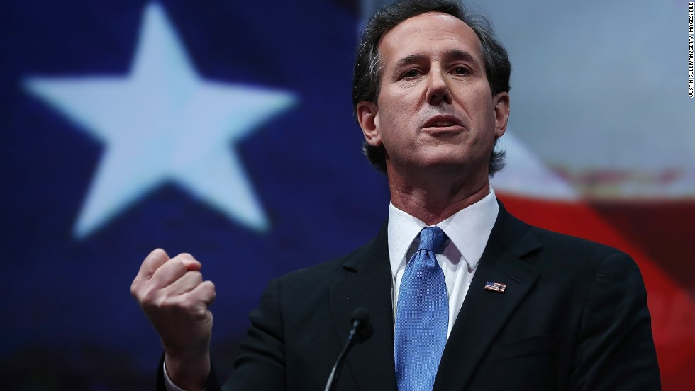 Second time a charm for Santorum?