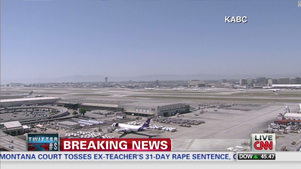 LAX ground stop lifted; departures resume