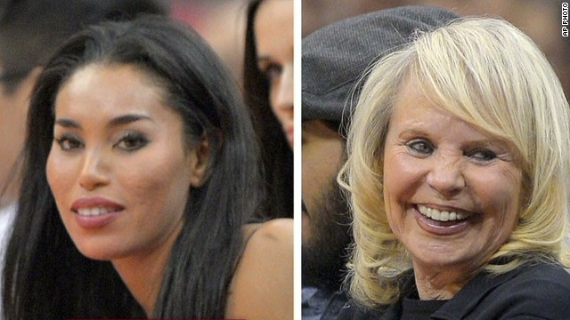 A look at Donald Sterling's women