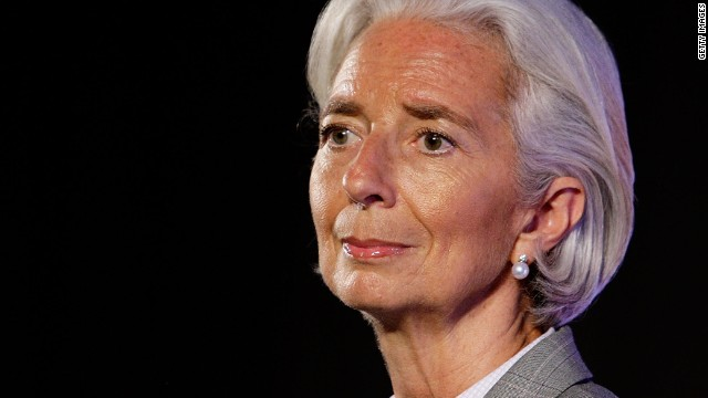 Lagarde: Russian economy has suffered