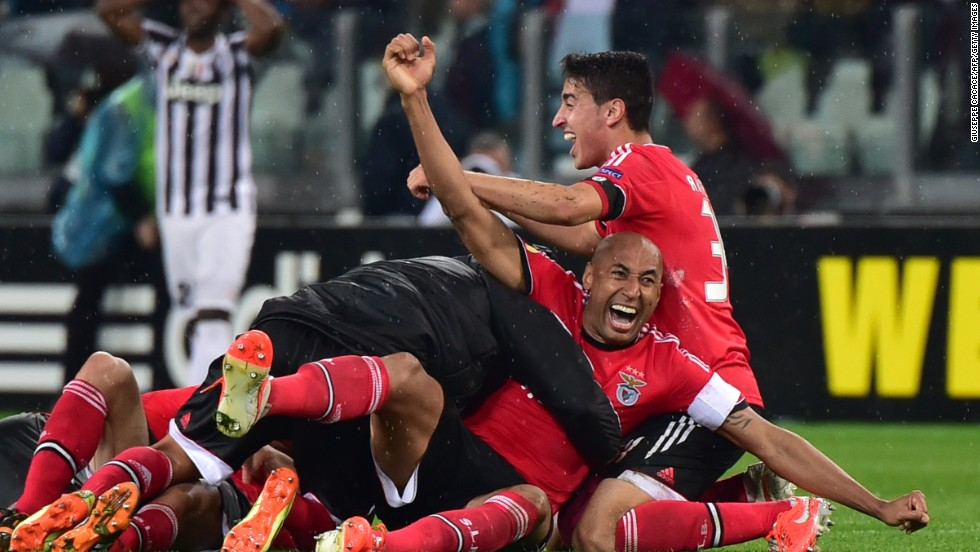But Benfica held on and it was their players who celebrated booking a return to the Europa League final at the same stadium on May 14.