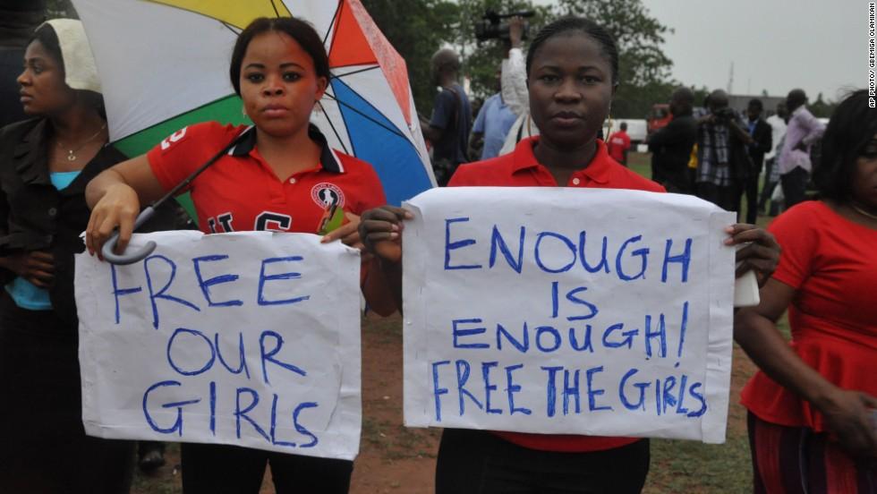 Nigerian police: 223 kidnapped girls still missing