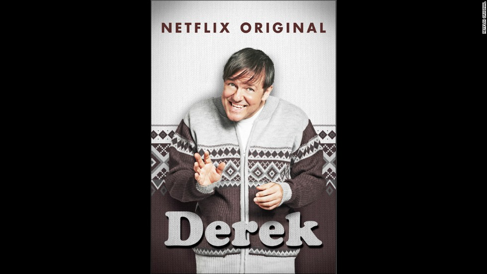 "<strong>""Derek"" </strong>Season 2 (2014) -- Ricky Gervais stars in this British comedy television series. (Netflix)"