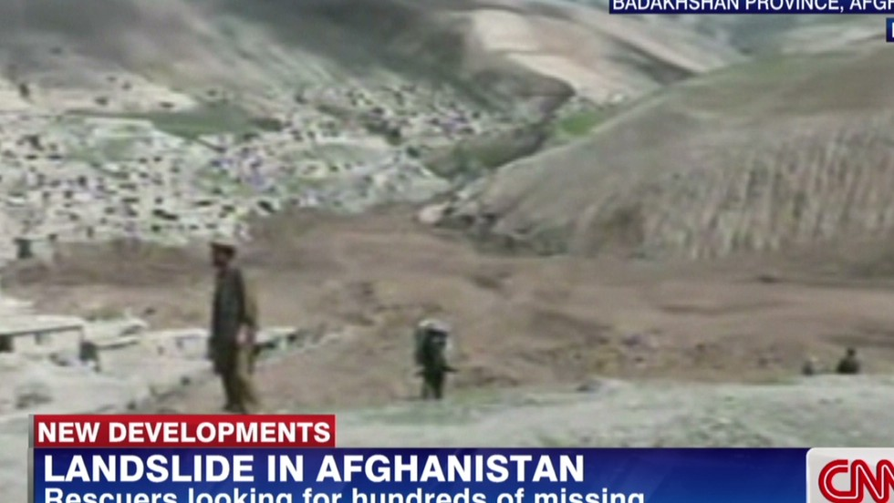 Twin landslides site that killed at least 2,000 Afghans declared a mass grave