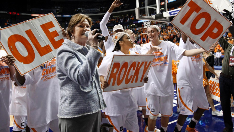 "The song ""Rocky Top"" has become part of the culture among University of Tennessee fans. The song was written by Boudleaux and Felice Bryant in 1967 and was first played by the university band in the early 1970s. Legendary women's basketball coach Pat Summitt has said ""Rocky Top"" is part of her blood."