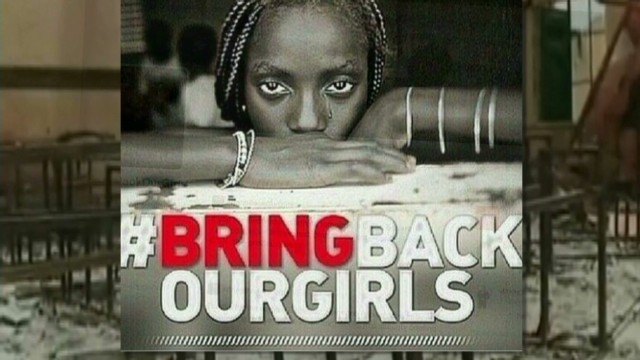 Social media push for kidnapped girls