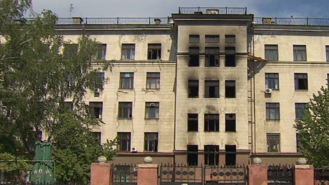 40 died in building fire in Odessa