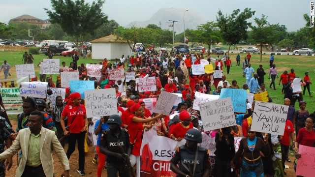 Call to #bringbackourgirls in Nigeria