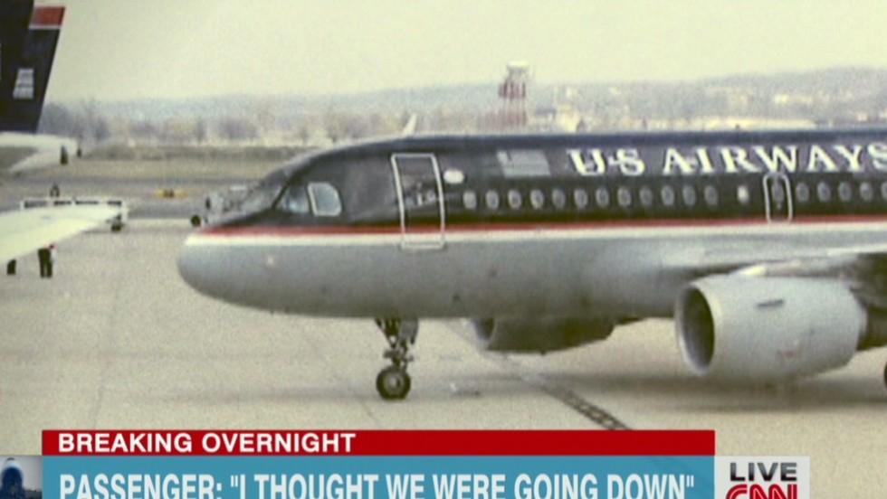 Terrified passengers recall airliner's sudden, turbulent drop