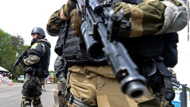 Heavy clashes reported in Ukraine