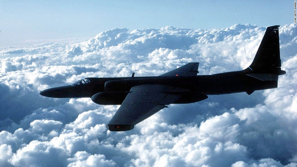 The single-engine, single-pilot U-2 is used for high-altitude reconnaissance and surveillance. Flying at altitudes around 70,000 feet, pilots must wear pressure suits like those worn by astronauts. The first U-2 was flown in 1955. The planes were used on missions over the Soviet Union during the Cold War, flying too high to be reached by any adversary. The Air Force has 33 U-2s in its active inventory.