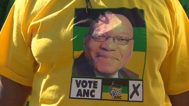 Voters heads to the polls in S. Africa