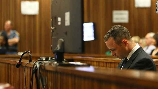Pistorius' neighbor imitates scream