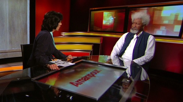 intv amanpour nigeria bring back our girls nobel author writer Wole Soyinka air 1_00003623.jpg
