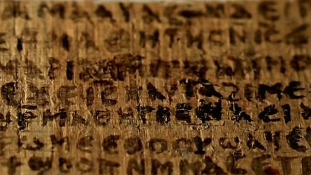 Does papyrus say Jesus had a wife?