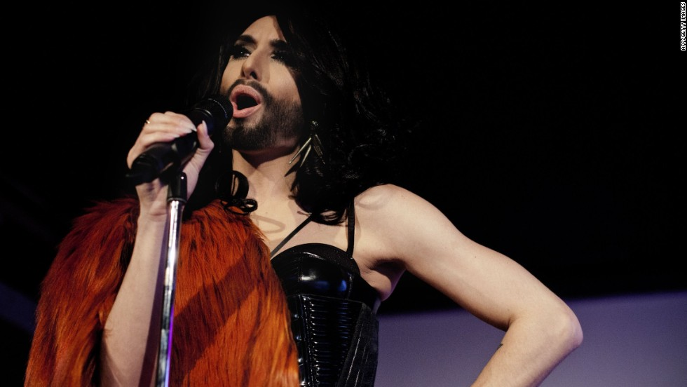 The bearded drag alter ego of singer Tom Neuwirth is this year's entry from Austria. The contest has always reveled in its irrepressible camp side.