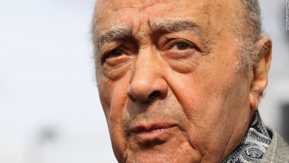 Al Fayed has blamed the removal of the statue on Fulham's poor form. The club has lost its place in the Premier League after 13 years in the English top flight.