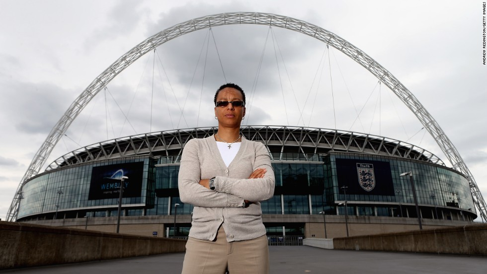 Hope Powell was appointed as the first ever female coach of the England women's team in 1998. During her 15-year reign, she guided the side to qualification for two World Cups and four European Championships. Powell also coached Great Britain at the 2012 Olympics.
