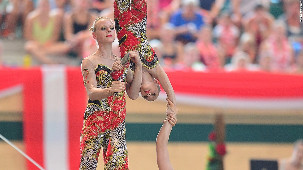 Germany has long been the world's leading vaulting nation. In 2013 the Germans won the European team event, which involves six vaulters, up to three of whom may touch the horse at any moment.