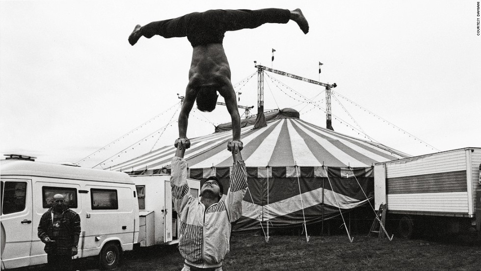 """When I was younger I didn't like the circus so much, because the people in the shows always seemed a little bit sad,"" said 50-year-old Plorutti. ""The clown tries to make you happy, but his life is so sad.""<br /><br />""For me, the real joy is off the stage. You see the people performing for themselves. You see a father helping a son, trying to teach him, but in a joking way."""