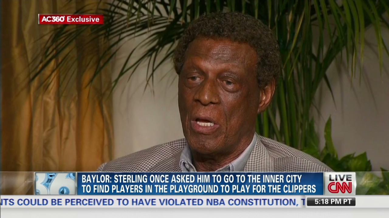 Exclusive Elgin Baylor on Donald Sterling CNN Video