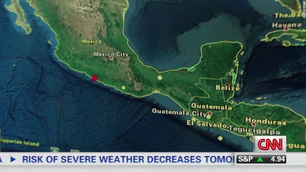 6.4 quake shakes southern Mexico