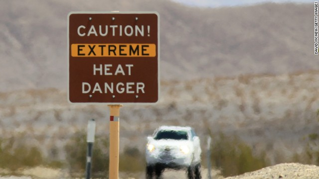 People who go to Death Valley in California expect extreme heat. Climate researchers think we're experiencing the highest temperatures the Earth has seen since the Bronze Age.