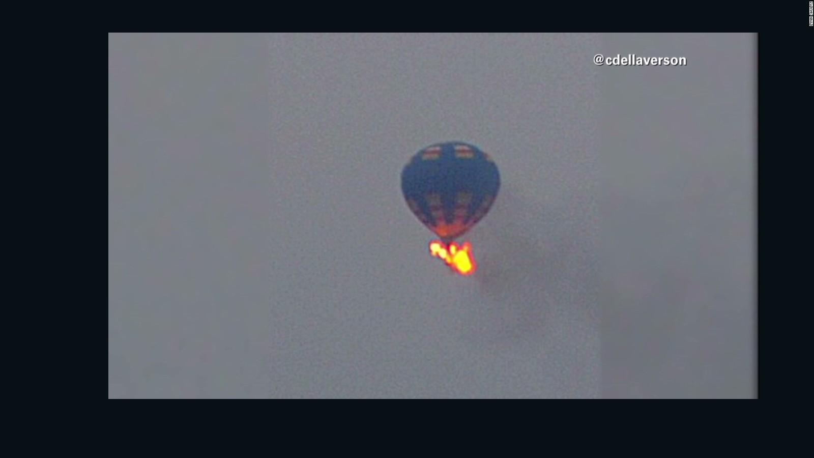 texas air balloon hit power lines before crash cnn