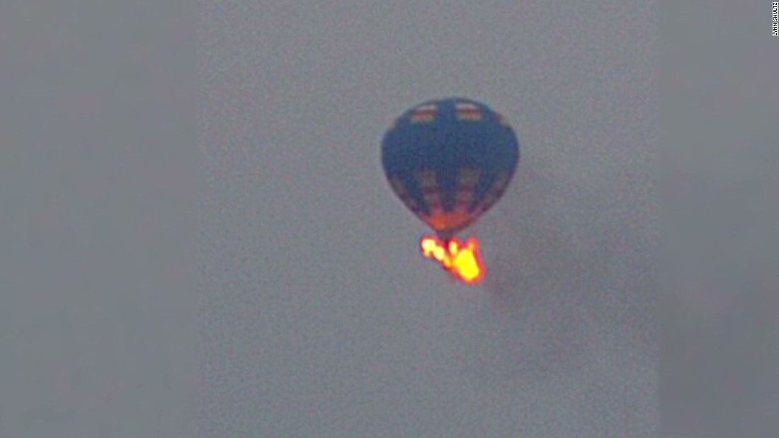 Tourist killed in hot air balloon crash in Egypt