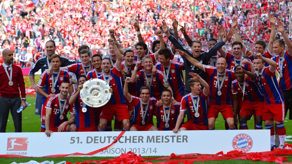 Guardiola has been successful on the domestic front in Germany since taking over in 2013. He is on course to win a third successive Bundesliga crown and has also added the German Cup, UEFA Super Cup and FIFA Club World Cup title to his trophy cabinet. But glory in the Champions League has eluded him so far.
