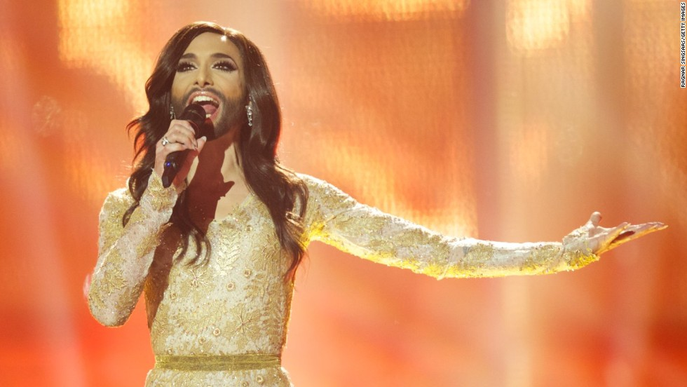 "Austria's <a href=""http://www.cnn.com/2014/05/11/world/europe/eurovision-ukraine-russia-conchita-wurst/"">Conchita Wurst</a> won the Eurovision Song Contest in May and became an overnight sensation online."