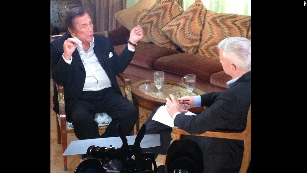 Donald Sterling purportedly says jealousy behind racist comments