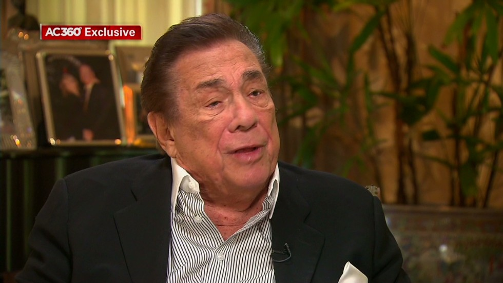 Donald Sterling tells Anderson Cooper: I was 'baited' into 'a terrible mistake'